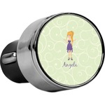 Custom Character (Woman) USB Car Charger (Personalized)