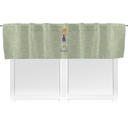 Custom Character (Woman) Valance (Personalized)