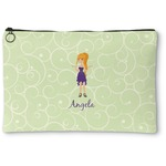 Custom Character (Woman) Zipper Pouch (Personalized)