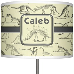 "Dinosaur Skeletons 13"" Drum Lamp Shade (Personalized)"
