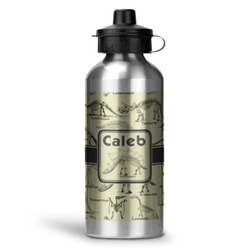 Dinosaur Skeletons Water Bottle (Personalized)