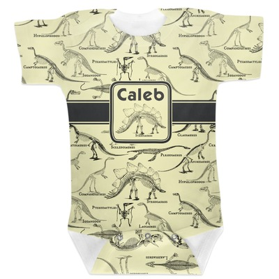 Dinosaur Skeletons Baby Bodysuit (Personalized)