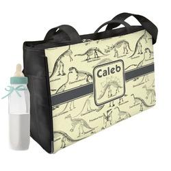 Dinosaur Skeletons Diaper Bag (Personalized)
