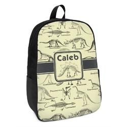 Dinosaur Skeletons Kids Backpack (Personalized)