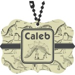Dinosaur Skeletons Rear View Mirror Charm (Personalized)