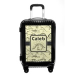 Dinosaur Skeletons Carry On Hard Shell Suitcase (Personalized)