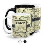 Dinosaur Skeletons Coffee Mugs (Personalized)