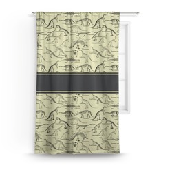 Dinosaur Skeletons Curtain (Personalized)