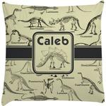 Dinosaur Skeletons Decorative Pillow Case (Personalized)
