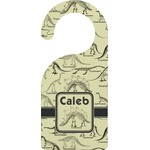 Dinosaur Skeletons Door Hanger (Personalized)