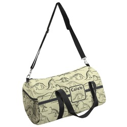 Dinosaur Skeletons Duffel Bag (Personalized)