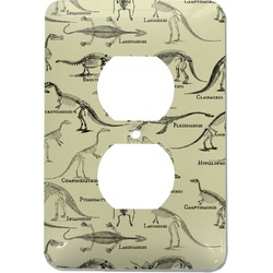 Dinosaur Skeletons Electric Outlet Plate (Personalized)