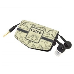 Dinosaur Skeletons Genuine Leather Cord Wrap (Personalized)