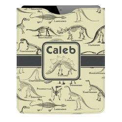 Dinosaur Skeletons Genuine Leather iPad Sleeve (Personalized)