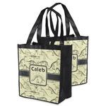 Dinosaur Skeletons Grocery Bag (Personalized)