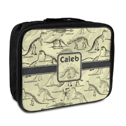 Dinosaur Skeletons Insulated Lunch Bag (Personalized)