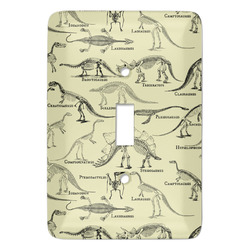 Dinosaur Skeletons Light Switch Covers - Multiple Toggle Options Available (Personalized)
