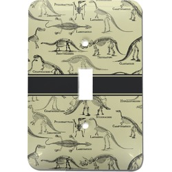 Dinosaur Skeletons Light Switch Cover (Single Toggle) (Personalized)