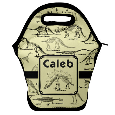 Dinosaur Skeletons Lunch Bag (Personalized)