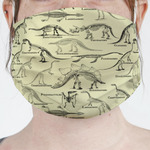 Dinosaur Skeletons Face Mask Cover (Personalized)