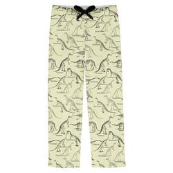 Dinosaur Skeletons Mens Pajama Pants (Personalized)