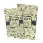 Dinosaur Skeletons Microfiber Golf Towel (Personalized)