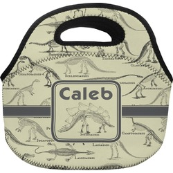 Dinosaur Skeletons Lunch Bag (Personalized)