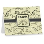 Dinosaur Skeletons Note cards (Personalized)