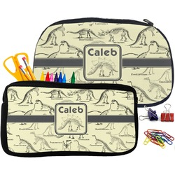 Dinosaur Skeletons Pencil / School Supplies Bag (Personalized)