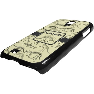 Dinosaur Skeletons Plastic Samsung Galaxy 4 Phone Case (Personalized)