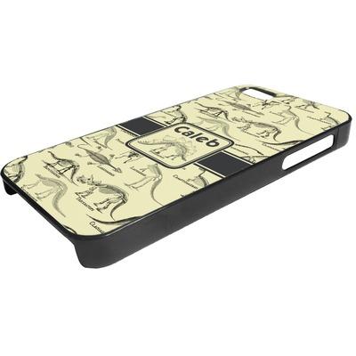 Dinosaur Skeletons Plastic iPhone 5/5S Phone Case (Personalized)