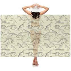 Dinosaur Skeletons Sheer Sarong (Personalized)