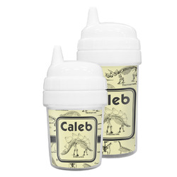 Dinosaur Skeletons Sippy Cup (Personalized)