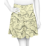 Dinosaur Skeletons Skater Skirt (Personalized)