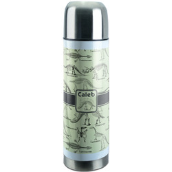 Dinosaur Skeletons Stainless Steel Thermos (Personalized)