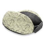 Dinosaur Skeletons Travel Neck Pillow