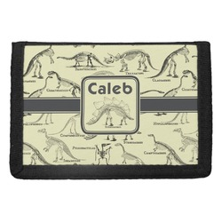 Dinosaur Skeletons Trifold Wallet (Personalized)