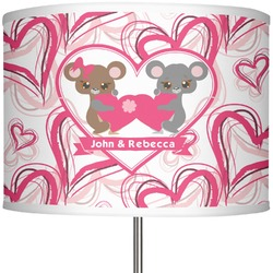 """Valentine's Day 13"""" Drum Lamp Shade (Personalized)"""