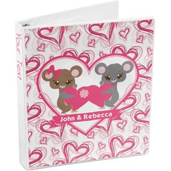 Valentine's Day 3-Ring Binder (Personalized)