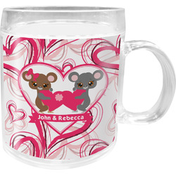 Valentine's Day Acrylic Kids Mug (Personalized)