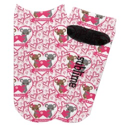 Valentine's Day Adult Ankle Socks (Personalized)