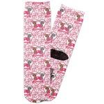 Valentine's Day Adult Crew Socks (Personalized)