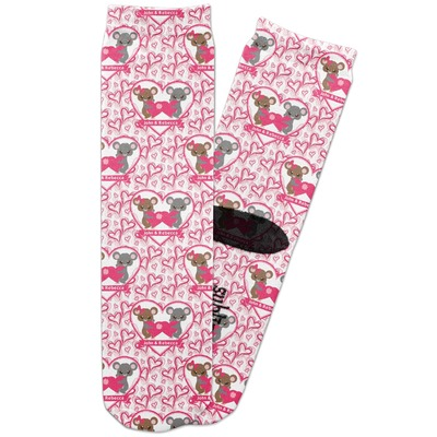 Valentine's Day Adult Crew Socks (Personalized)