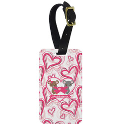 Valentine's Day Aluminum Luggage Tag (Personalized)