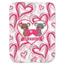 Valentine's Day Baby Swaddling Blanket (Personalized)
