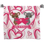 Valentine's Day Full Print Bath Towel (Personalized)