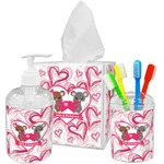 Valentine's Day Bathroom Accessories Set (Personalized)