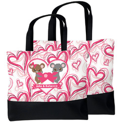 Valentine's Day Beach Tote Bag (Personalized)