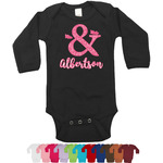 Valentine's Day Bodysuit - Long Sleeves (Personalized)