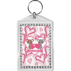 Valentine's Day Bling Keychain (Personalized)